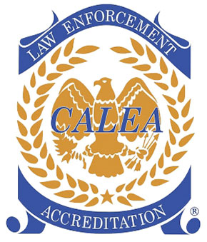 CALEA Law Enforcement Accreditation seal