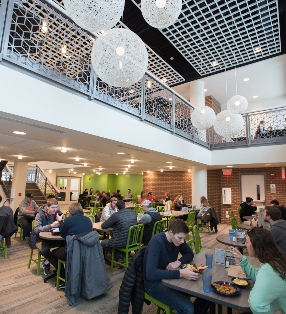 A UNH dining hall