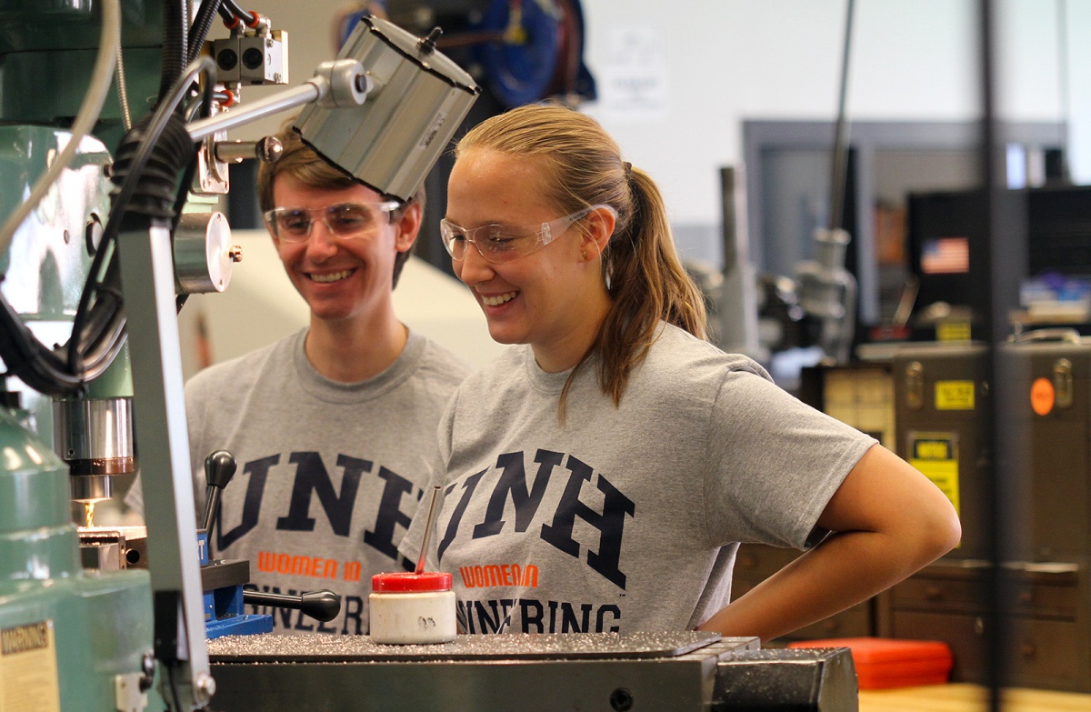 KUA's Girls in Engineering at UNH