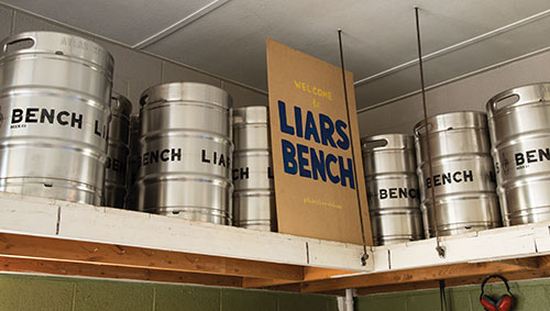 Liars' Bench Beer Co.