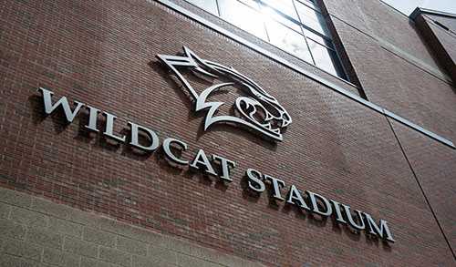 Wildcat Stadium sign