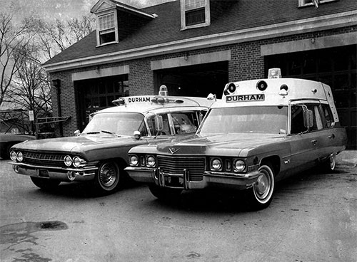 old Durham ambulances