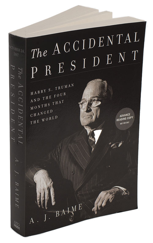 The Accidental President book cover