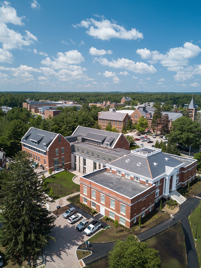 aerial view of new Hamilton Smith