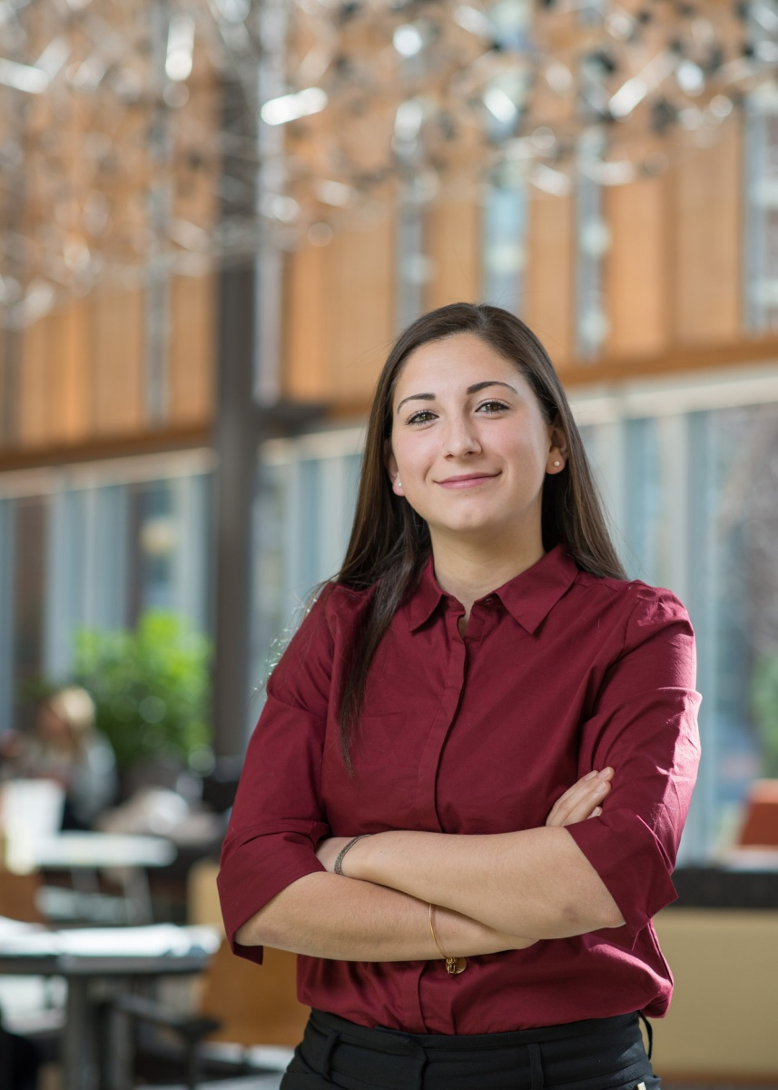 UNH student Janet Khoury