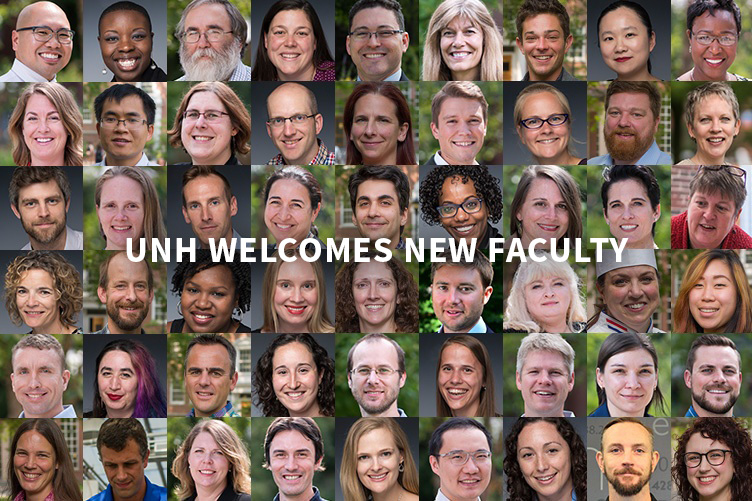 UNH Welcomes New Faculty