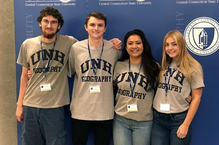 UNH geography students