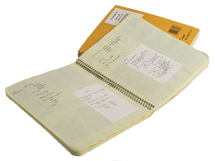 Don Murray's notebooks