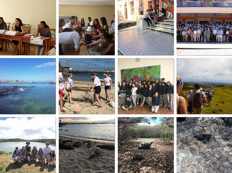 12 thumbnail views of slideshow of Galapagos