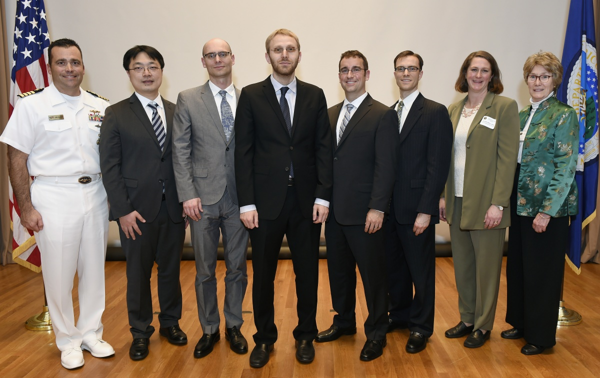 Awardees of Presidential honor, including UNH research professor Jennifer Miksis-Olds