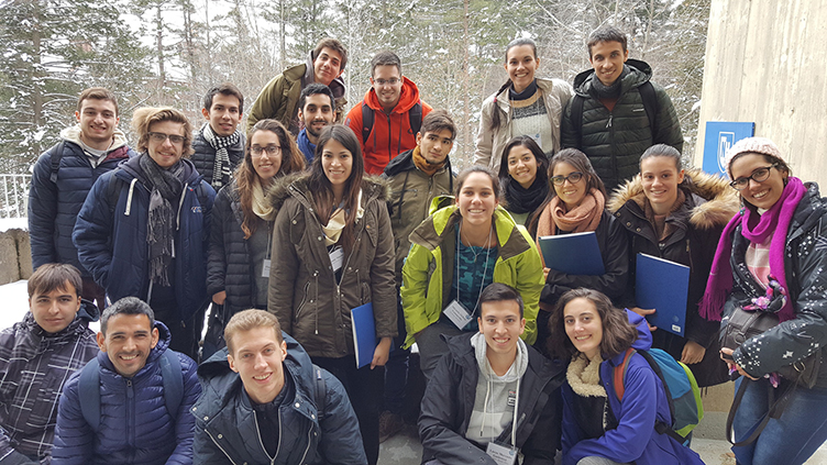 Argentine students at UNH