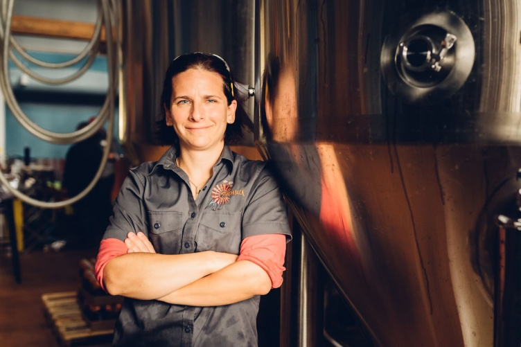 Cheryl Parker '00, UNH brewery manager