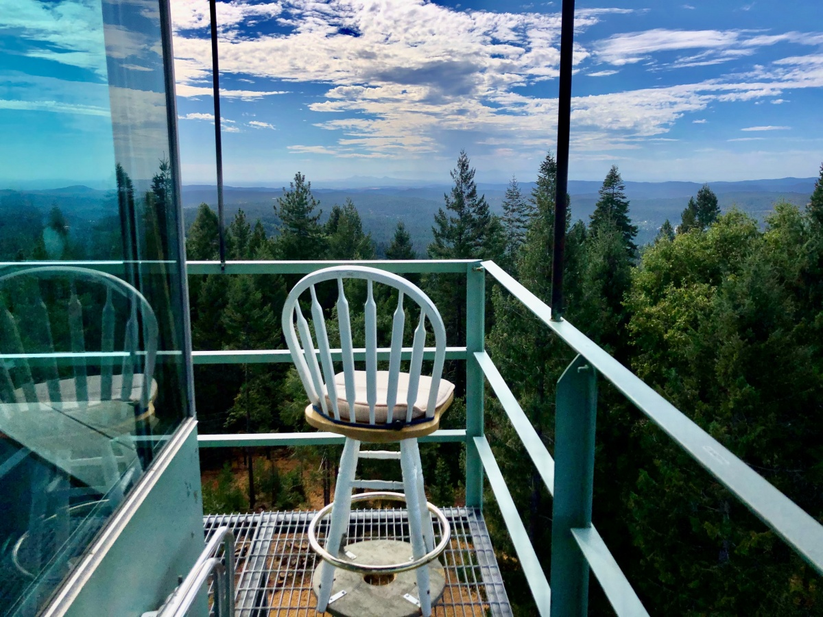 View from Banner Mountain Fire Tower