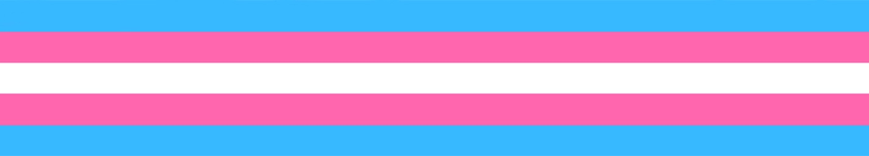 A graphic of stripes in blue, pink, and white
