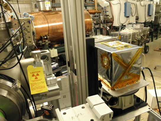 ​ Energetic Heavy Ion Sensor (EHIS); space weather instrument designed built and calibrated the University of New Hampshire for the GOES-R weather satellite.