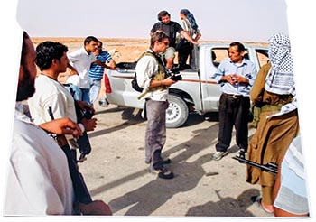 James Foley on assignment
