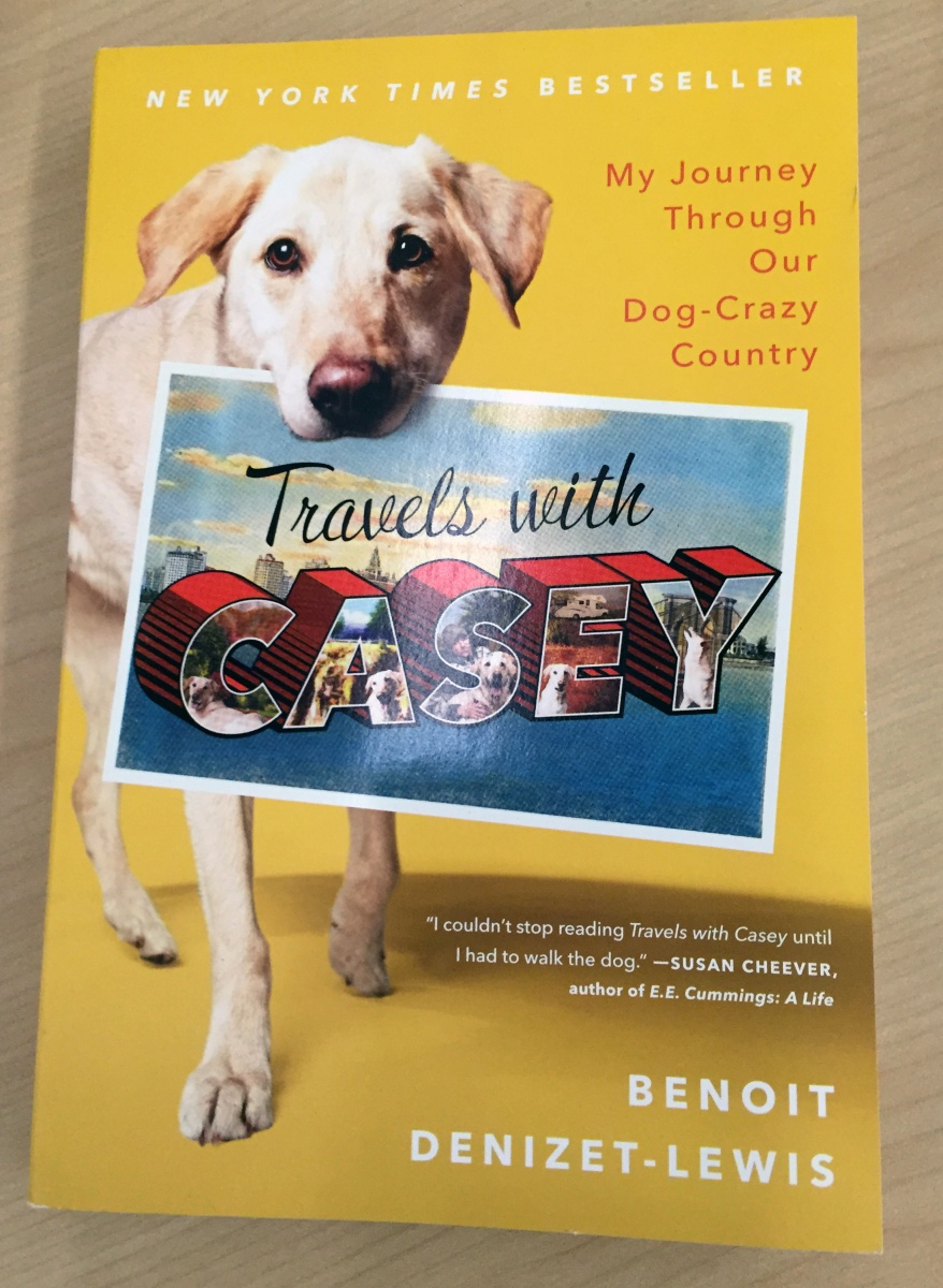 "Denizet-Lewis's book, ""Travels with Casey"""