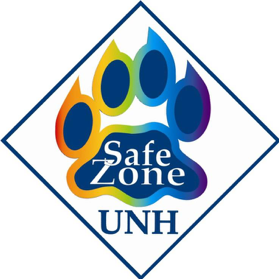 A UNH Safe Zone Graphic