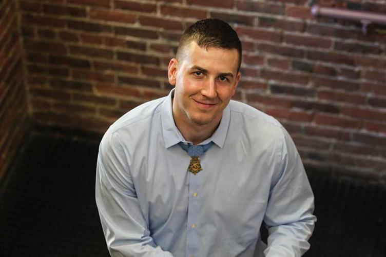 Army Staff Sergeant Ryan Pitts '13