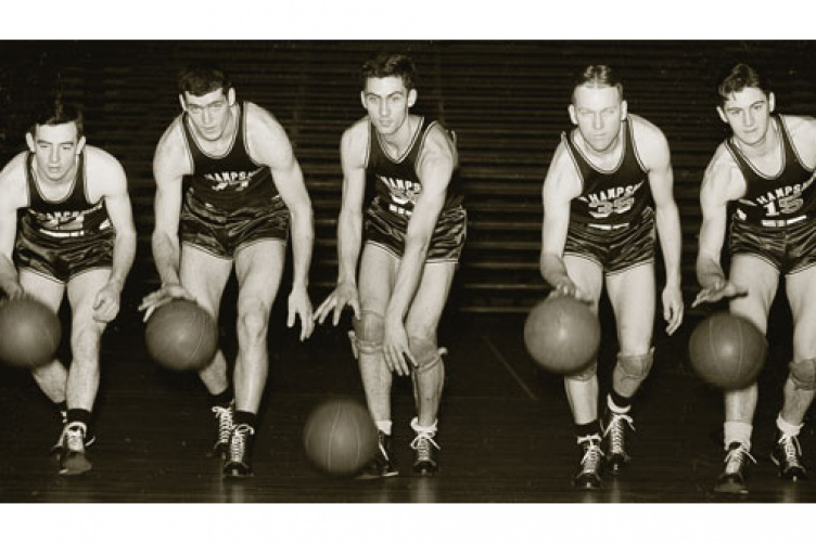 1939-1940 basketball team