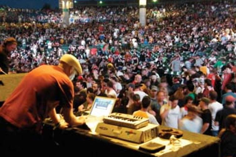 DJ Bradley Huckins