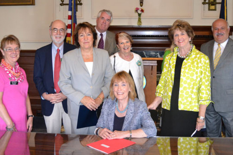 governor hassan signing bill to create pathways to work program