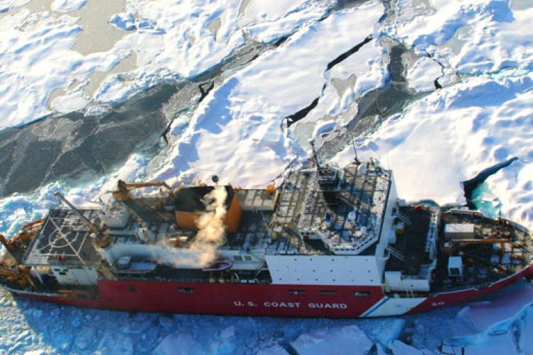 U.S. Coast Guard Cutter Healy in the Arctic