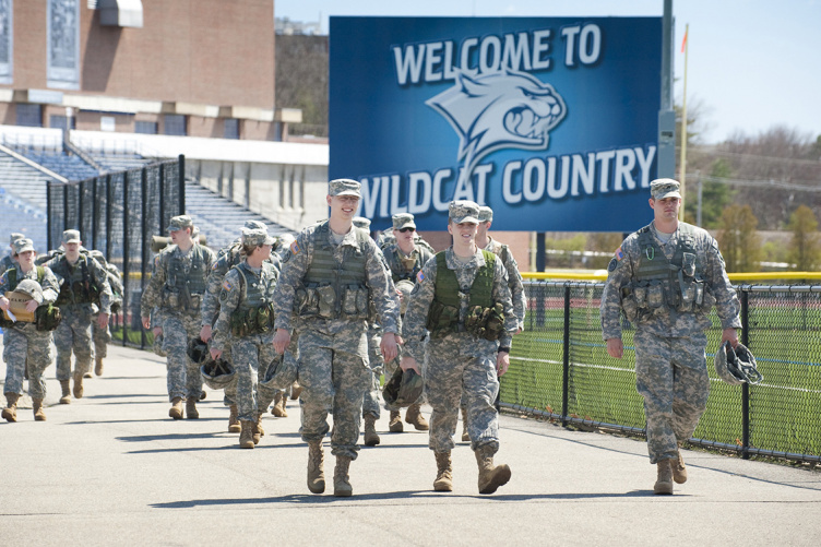 N.H. National Guard students on campus