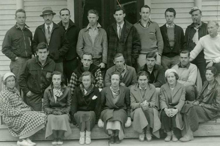 outing club, 1934