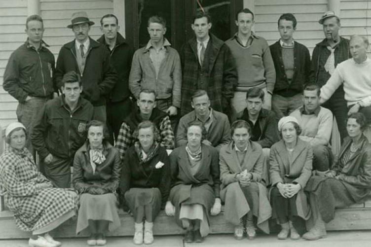 outing club, 1934