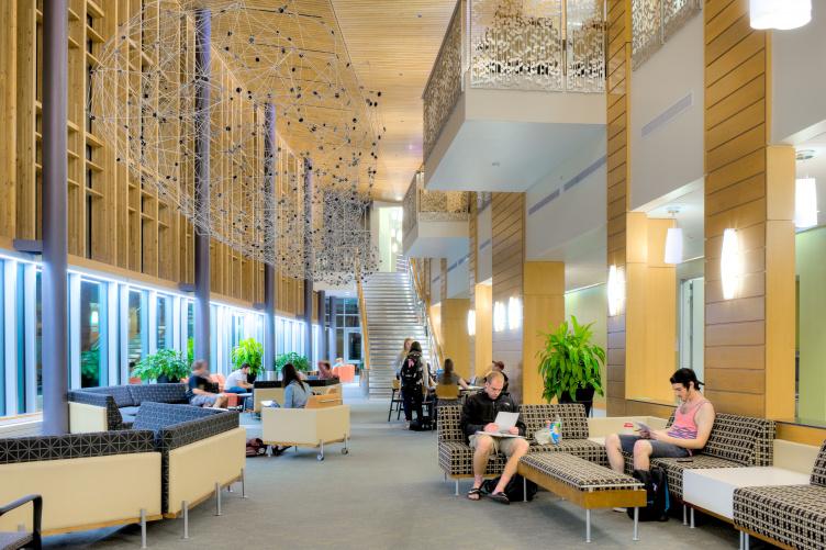 paul college interior