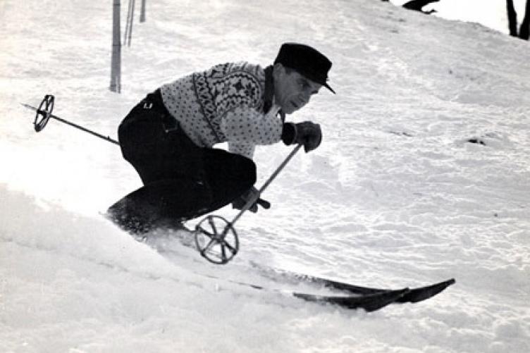 ralph townsend skiing