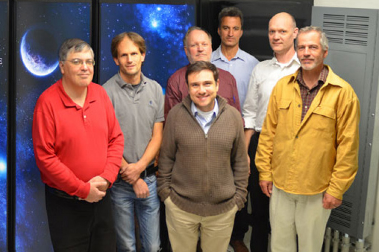 faculty members of supercomputer team