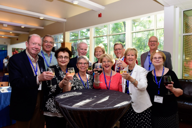 UNH Class of 1965 reunion dinner