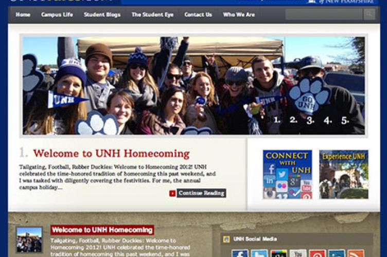 unh tales webpage