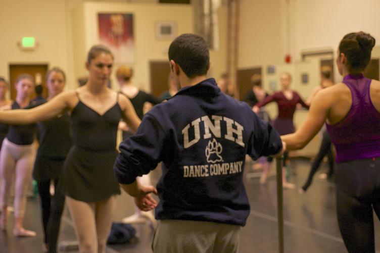 UNH dance professor Assaf Benchetrit