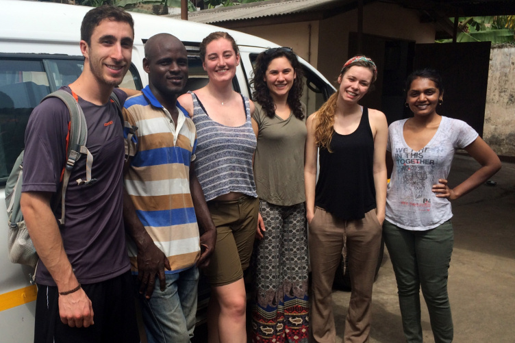 UNH students have helped bring sustainable energfy to a community in Ghana