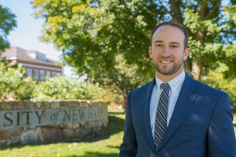 UNH alumnus Tate Aldrich