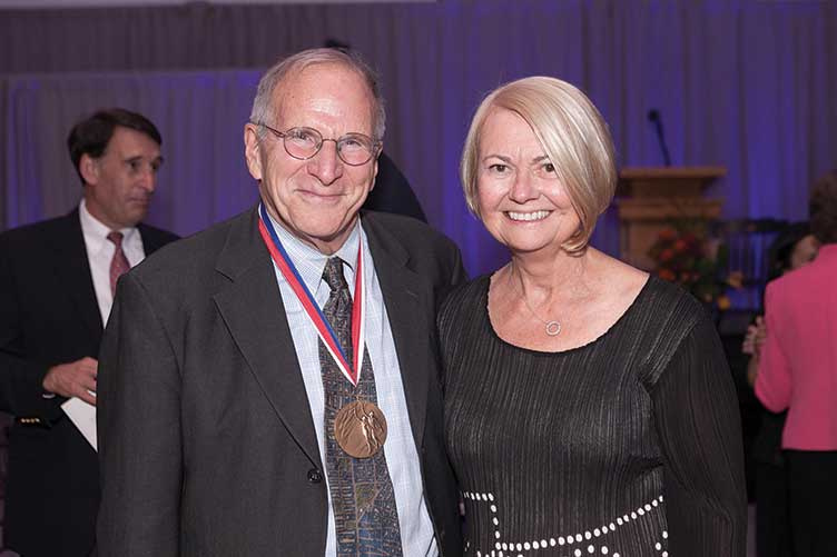 Lewis Feldstein and Marcy Carsey