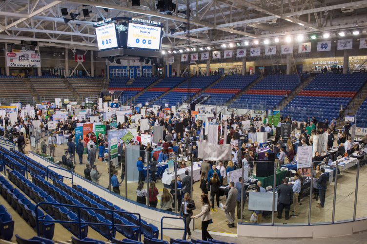 Career and Internship Fair at UNH