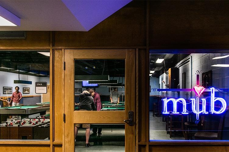 UNH MUB games room