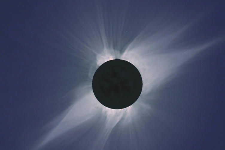 Image of a total solar eclipse