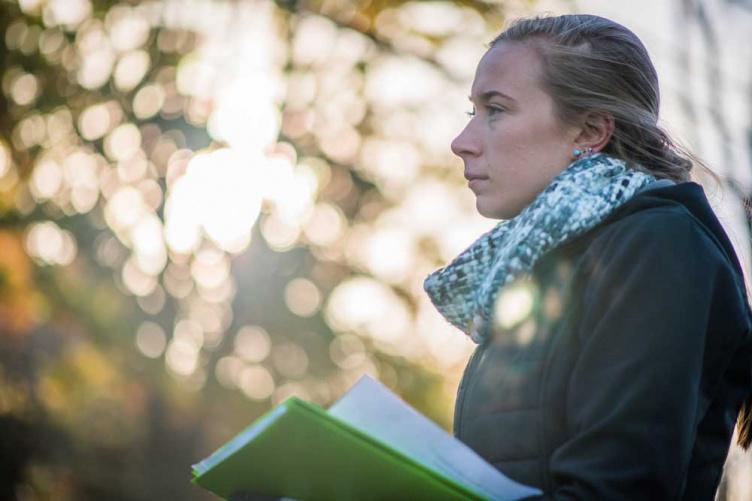 UNH student Sarah Jakositz '18