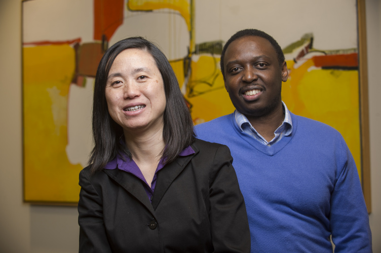 Associate professors of decision sciences Khole Gwebu and Jing Wang help small- and medium-sized businesses navigate the threats of cyber attacks.