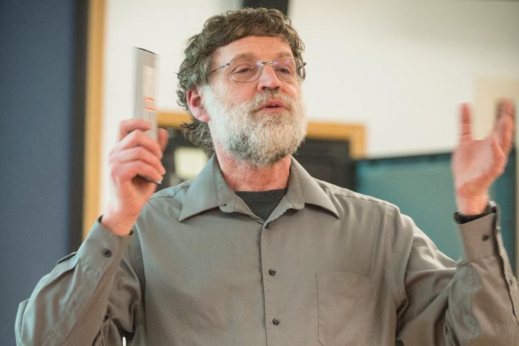 photo of Joshua Meyrowitz teaching