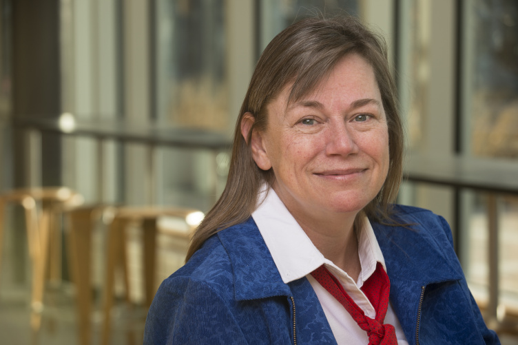 Associate professor of accounting Catherine Plante conducts research in governmental accounting.