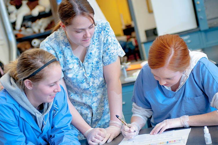 UNH Thompson School of Applied Science Veterinary Technology Program
