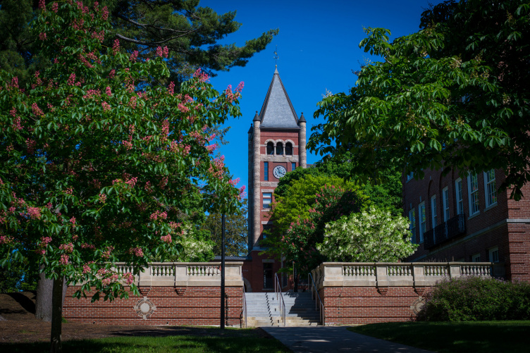 Thompson Hall at UNH in Durham, NH