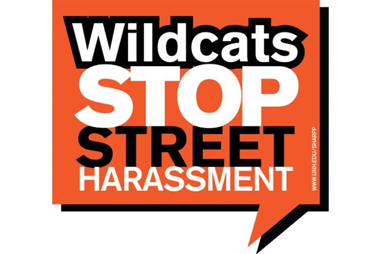 Wildcats stop street harassment graphic