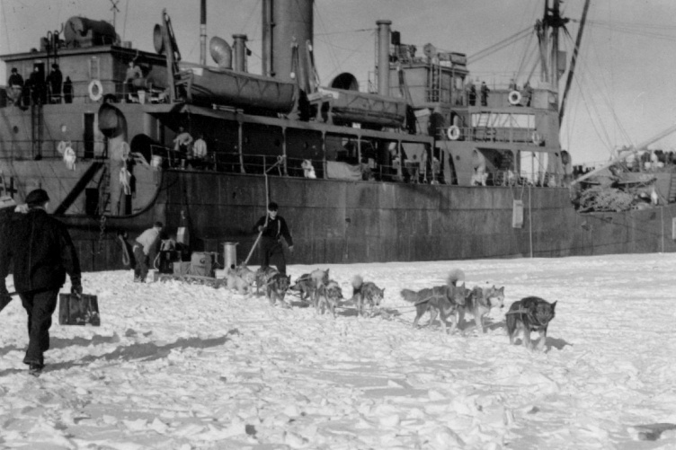 Admiral Richard E. Byrd's second Antarctic expedition of 1933-1935